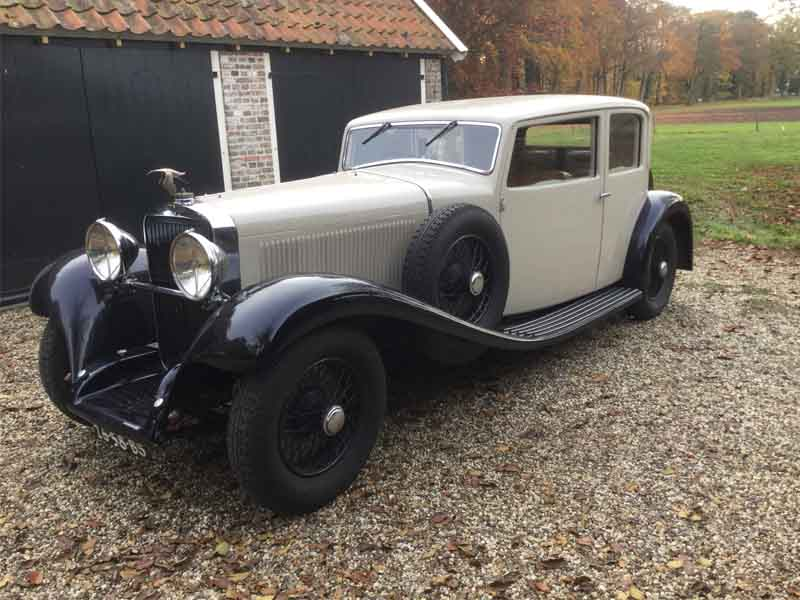 "Hispano Suiza	HS6 ""junior"" faux coupe by VanVooren"