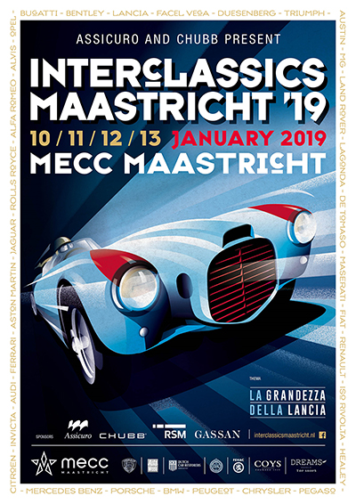 26th edition of InterClassics Maastricht pays tribute to 'La Grandezza della Lancia'