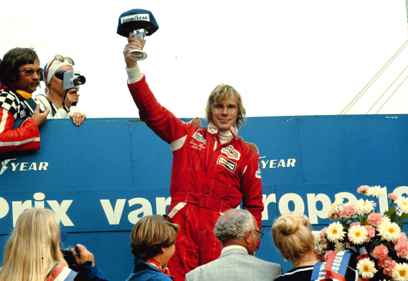 Formule 1 iconen: James Hunt & McLaren-Ford M23D